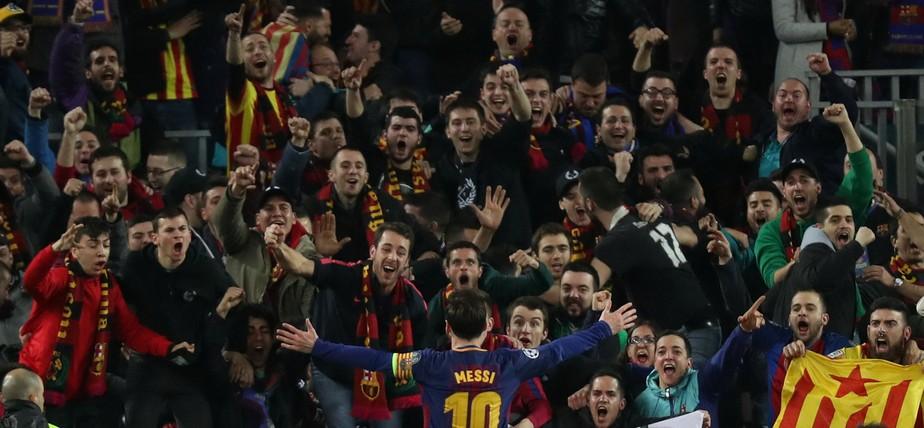 6abeed6845d37 ... Messi segue com menos gols que CR7 na Champions