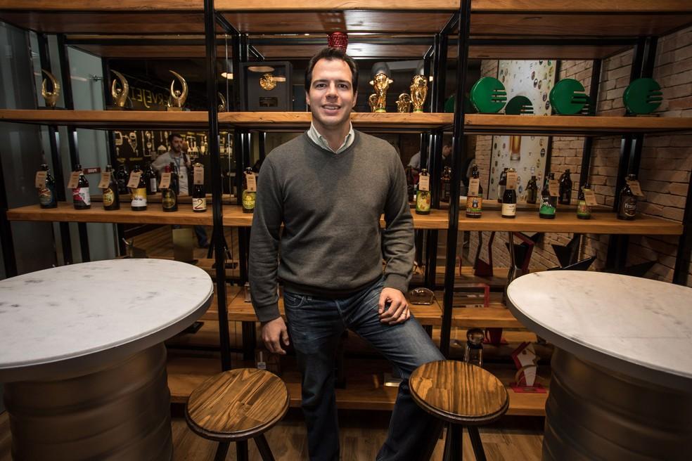 Felipe Ghiotto é diretor de marketing da Cervejaria Ambev (Foto: Fabio Tito/G1)