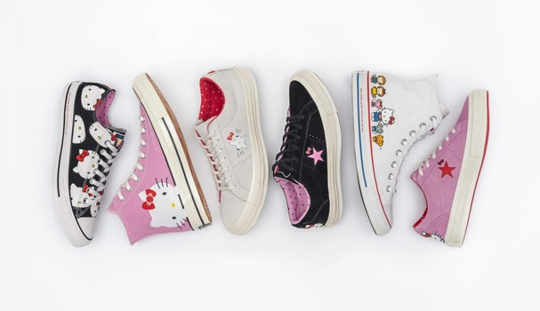 Converse X Hello Kitty (Foto: Divulgação)