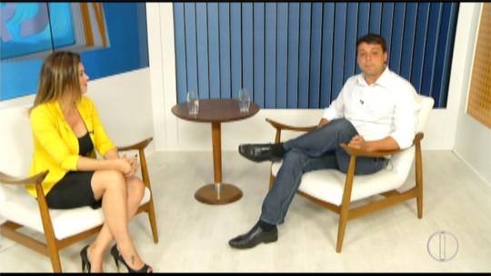 Bernardo Rossi fala de prioridades em entrevista no RJ Inter TV 1ª Edição