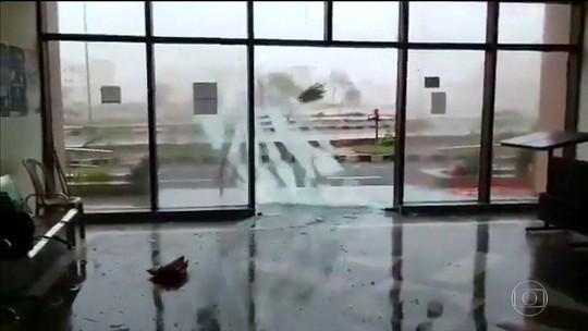 Ciclone atinge leste da Índia