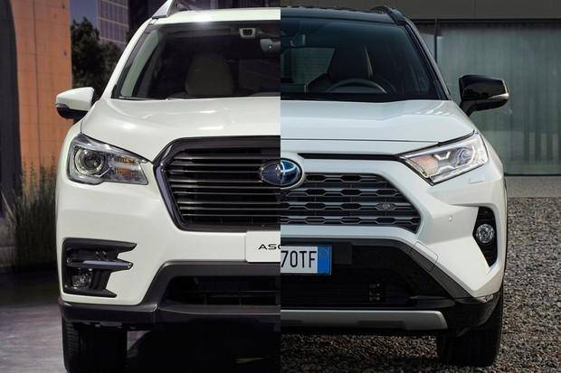 Subaru e Toyota (Foto: Divulgação)