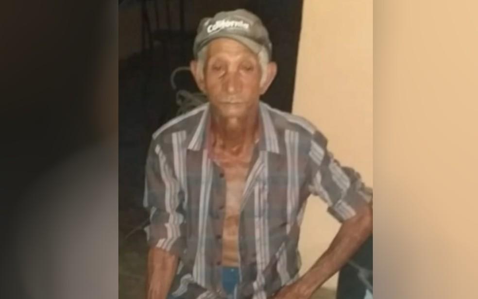 Geraldo Rosa da Silva foi morto após ataque de animal, em Vila Propício — Foto: Reprodução/TV Anhanguera
