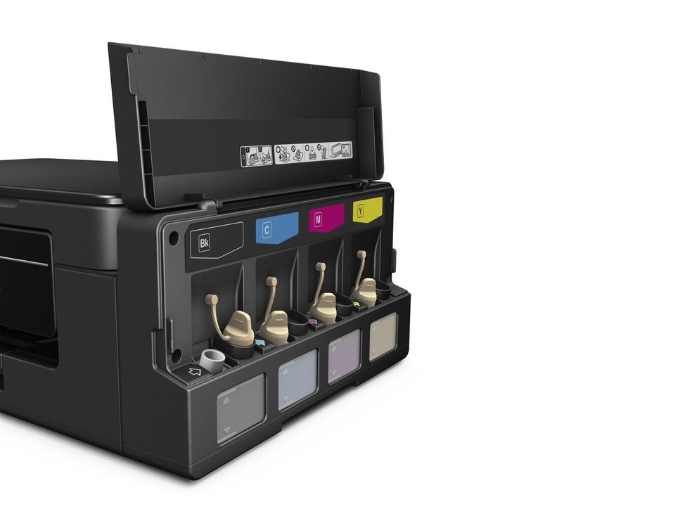 """Impresosras da Epson oferecem a possibilidade de """"tanque de tinta"""" (Foto: Divulgação/Epson)"""