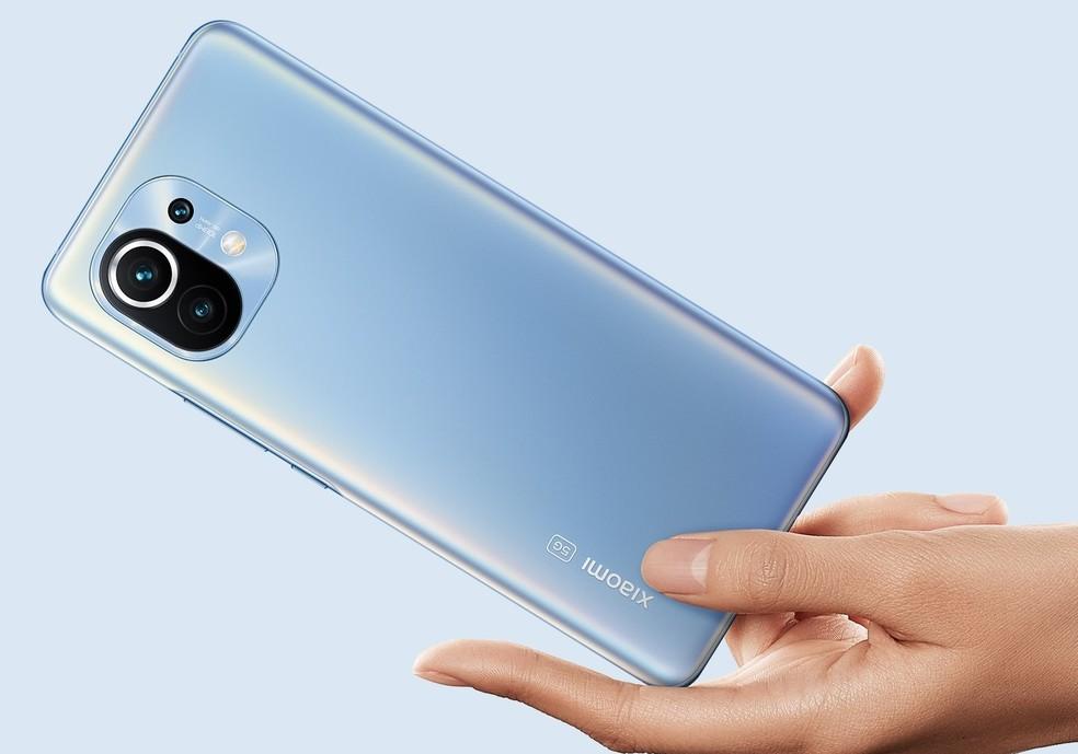 Lançamento da Xiaomi, Mi 11 já vendeu mais de 1 milhão de unidades — Foto: Divulgação/Xiaomi