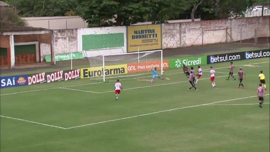Prêmio Dener: golaço de Bruno, do RB Brasil, é eleito o mais bonito da segunda fase da Copa São Paulo