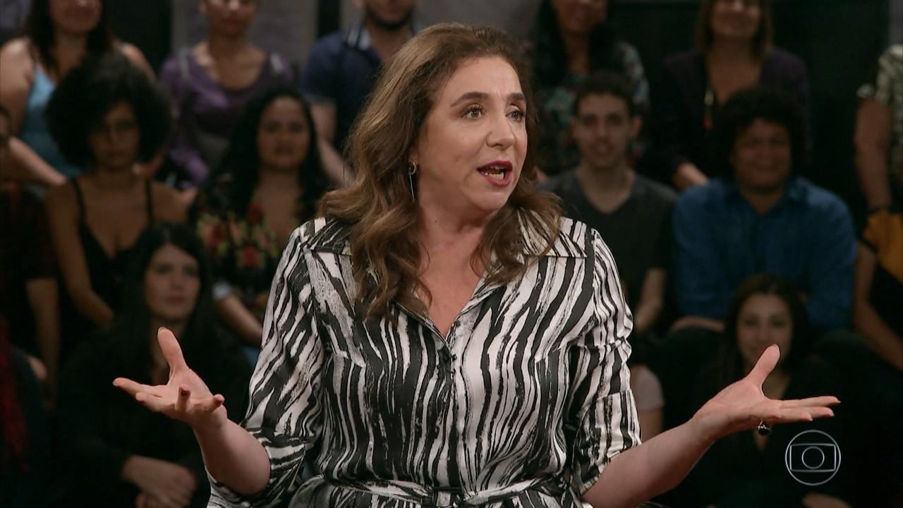 Marisa Orth conta história sobre encontro amoroso frustrante