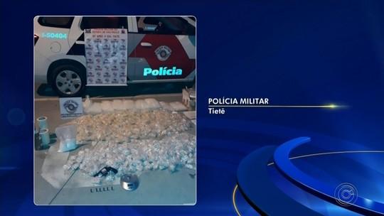 Homens são presos com mais de 32 mil porções de drogas em Tietê