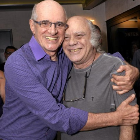Marcos Caruso e Tonico Pereira (Foto: Cristina Granato)