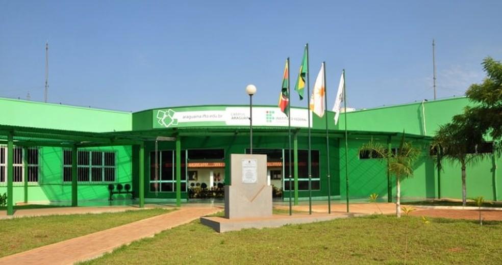 Câmpus de Araguaína do IFTO seleciona professores substitutos — Foto: IFTO Araguaína/Divulgação