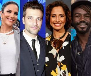 Ivete Sangalo, Bruno Gagliasso, Camila Pitanga e Jonathan Azevedo | TV Globo e Marcos Ramos