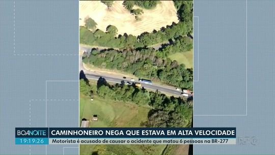 Motorista é acusado de causar o acidente que matou seis pessoas na BR-277, em 2017