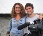 Tiago Worman com Patricya Travassos | Divulgação