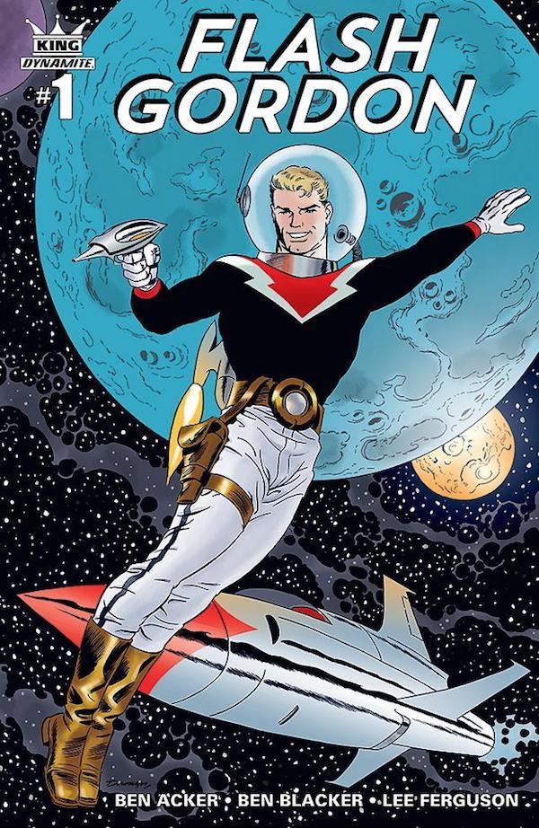 Uma das versões mais recentes de Flash Gordon em quadrinhos (Foto: Reprodução)
