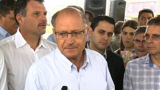 Geraldo Alckmin diz que médicos da 'farra do ponto' poderão ser demitidos e devolver salários ao Estado