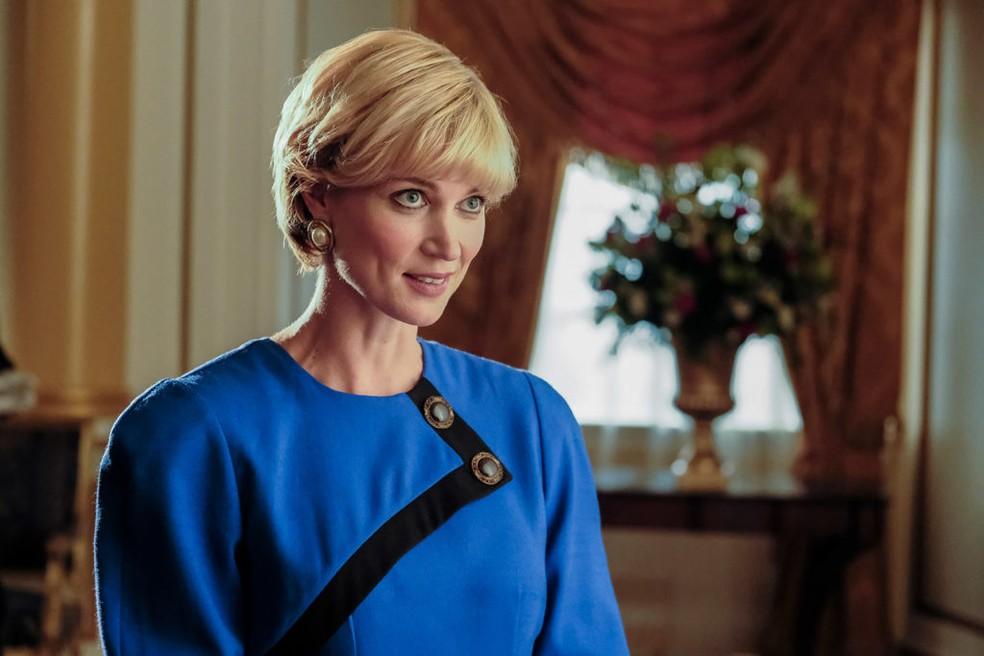 Bonnie Soper como a princesa Diana (Foto: Divulgação)