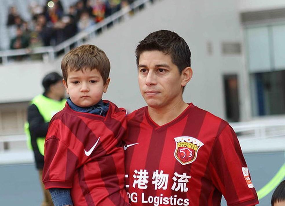 Conca não joga mais pelo Shanghai SIPG (Foto: Reprodução)