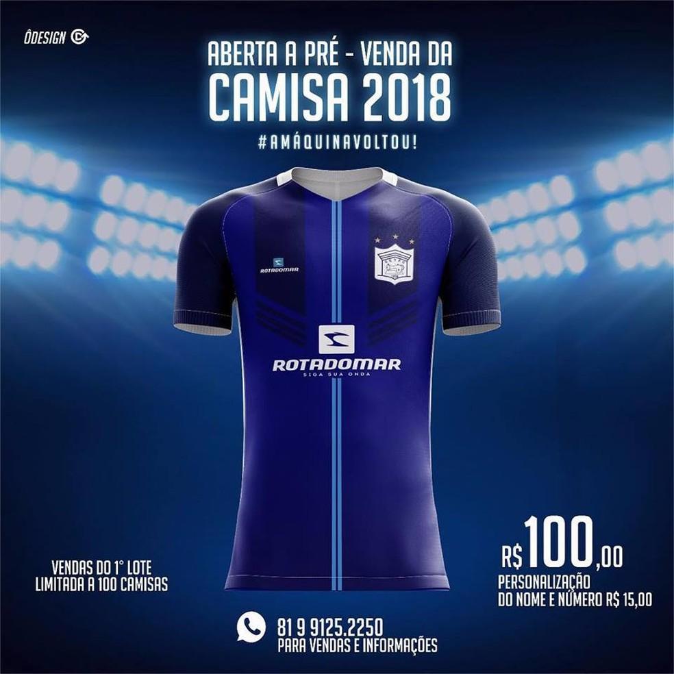 5f812a771bd40 Ypiranga-PE inicia pré-venda de nova camisa de jogo