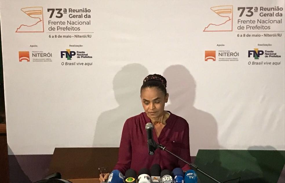 Marina Silva (Foto: Henrique Coelho/G1)