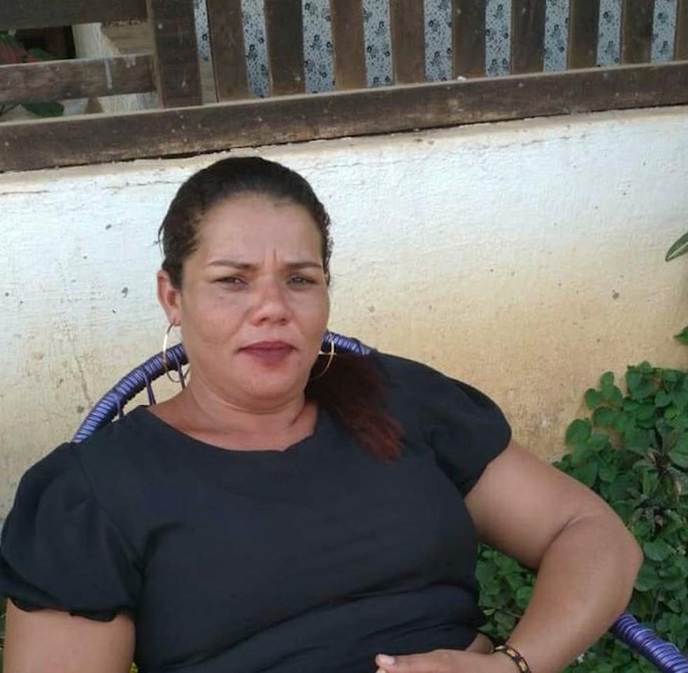 Erica Vasconcelos das Chagas morreu após ter sido atingida com golpe de faca em Pio XII, no Maranhão; — Foto: Reprodução/TV Mirante