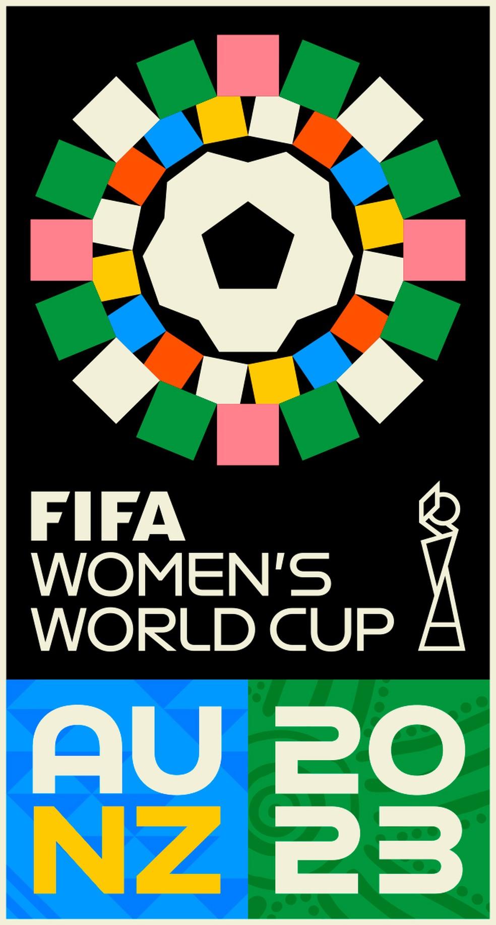 Fifa lança identidade visual da Copa do Mundo feminina de 2023