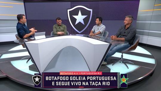 Botafogo vence Portuguesa com direito a primeiro gol de Diego Souza pelo Alvinegro