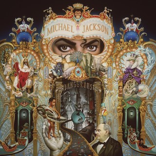 A capa do álbum Dangerous, de Mark Ryden