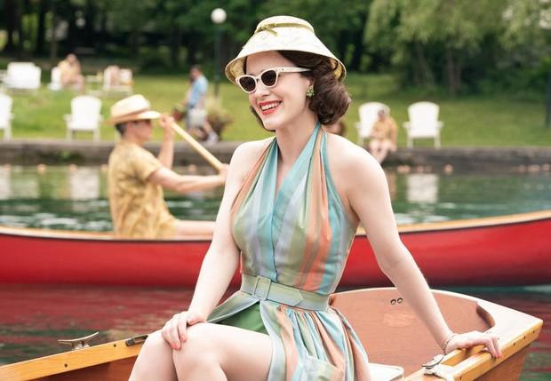 A segunda temporada de 'The Marvelous Mrs. Maisel' é ainda mais vibrante