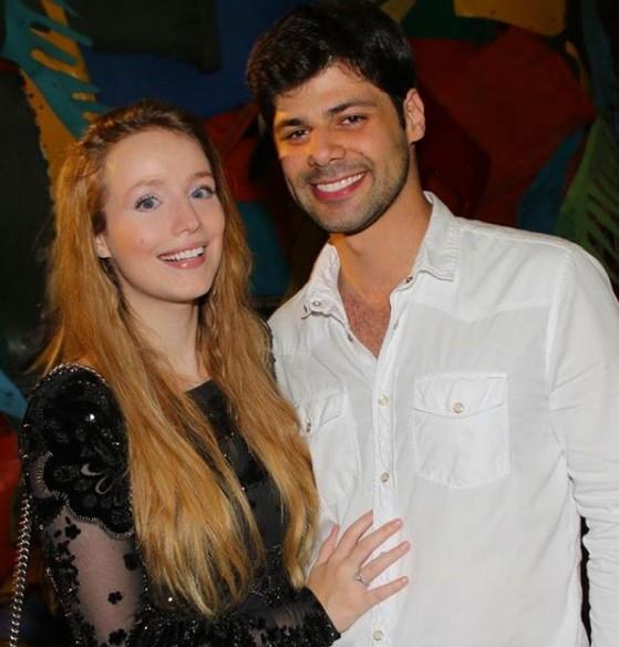 Malu Rodrigues com o marido (Foto: Reprodução Instagram)