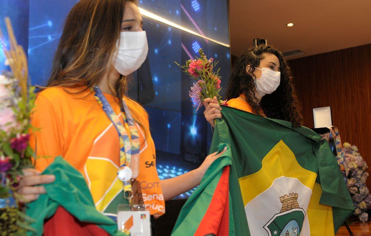 Ceará conquista prata em competição nacional de educação profissional
