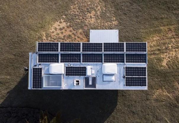 Trailer de alumínio movido a energia solar vai custar mais de R$ 800 mil (Foto: Divulgação)