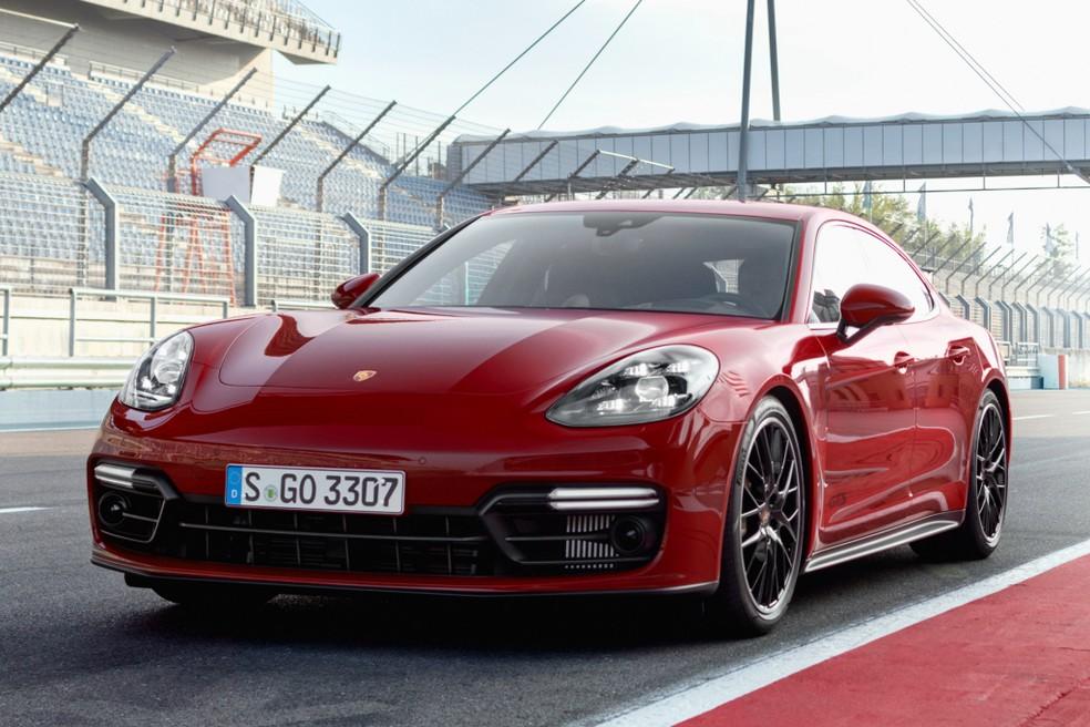 Porsche Panamera GTS — Foto: Divulgação/Porsche