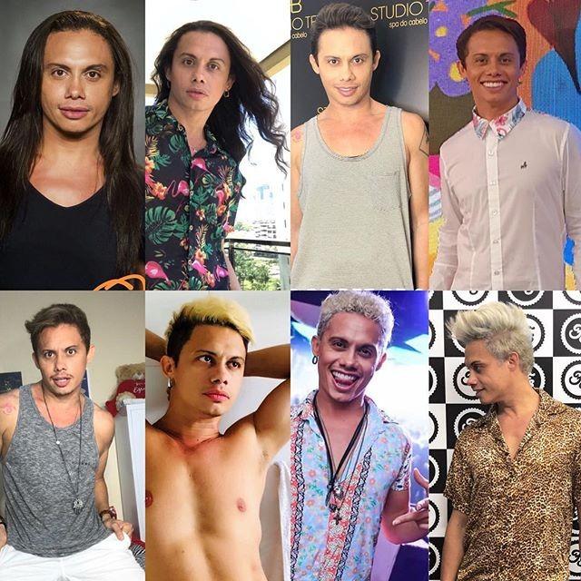 Silvero Pereira e suas metamorfoses (Foto: Reprodução/Instagram)