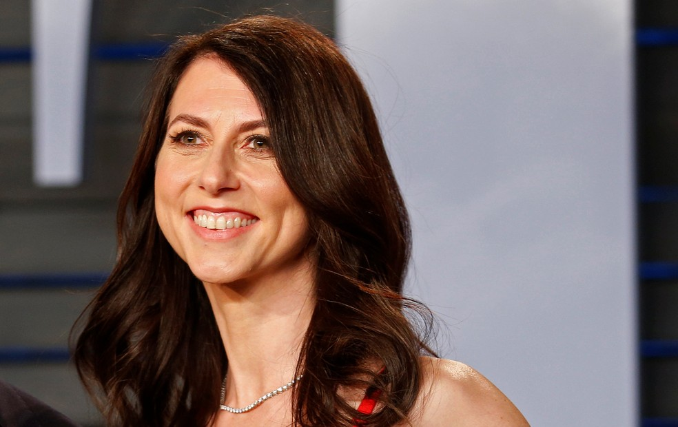 Mackenzie Scott, ex-mulher de Jeff Bezos — Foto: Danny Moloshok/Foto de arquivo/Reuters