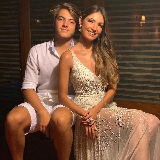 Patricia Poeta e filho (Foto: Instagram/Reprodução)