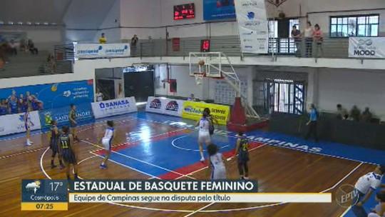 Campinas vence o Santo André e garante 3º jogo na semifinal do Paulista de Basquete Feminino