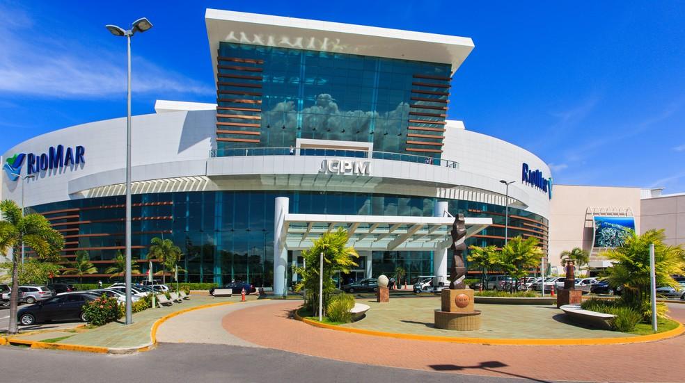 Shopping RioMar fica na Zona Sul do Recife — Foto: Vinícius Lubambo/Divulgação