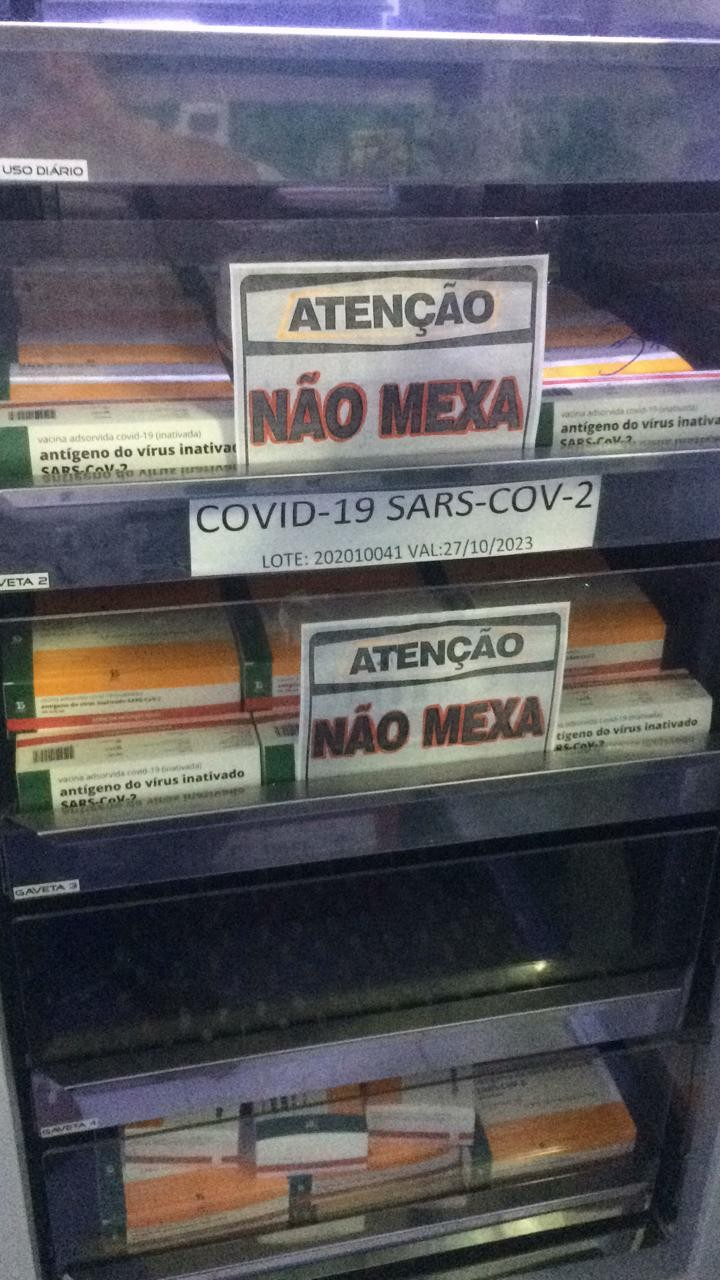 Prefeitura de Caruaru recebe novas doses de vacina contra a Covid-19