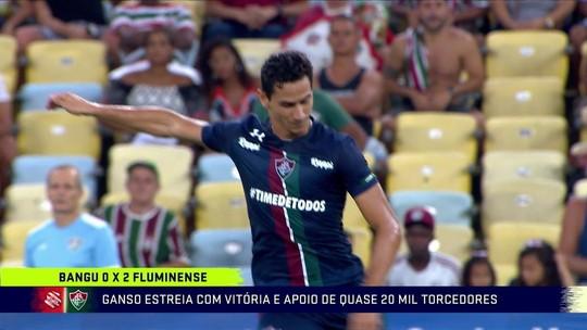 "Comentaristas aprovam estreia de Ganso no Fluminense: ""Deixa expectativa boa para a sequência"""