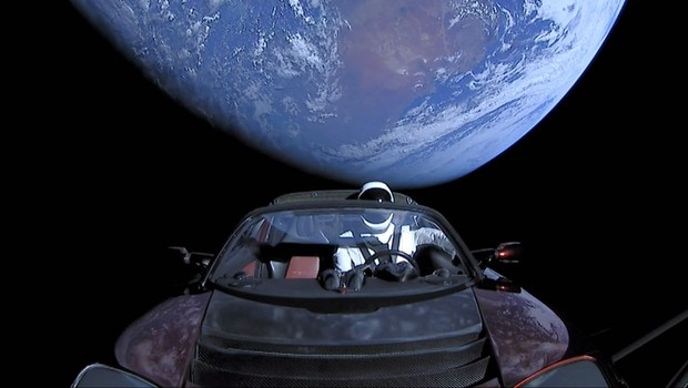 Starmain - Tesla - Falcon Heavy - SpaceX (Foto: SpaceX via Getty Images)