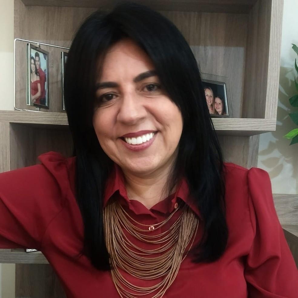 Eliene Liberato foi eleita prefeita de Cáceres — Foto: Facebook/Reprodução