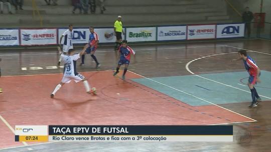 Rio Claro vence Brotas nos pênaltis e conquista terceiro lugar na Taça EPTV
