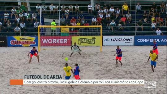 Seleção Brasileira de Futebol de Areia vence seu segundo jogo pela Copa América