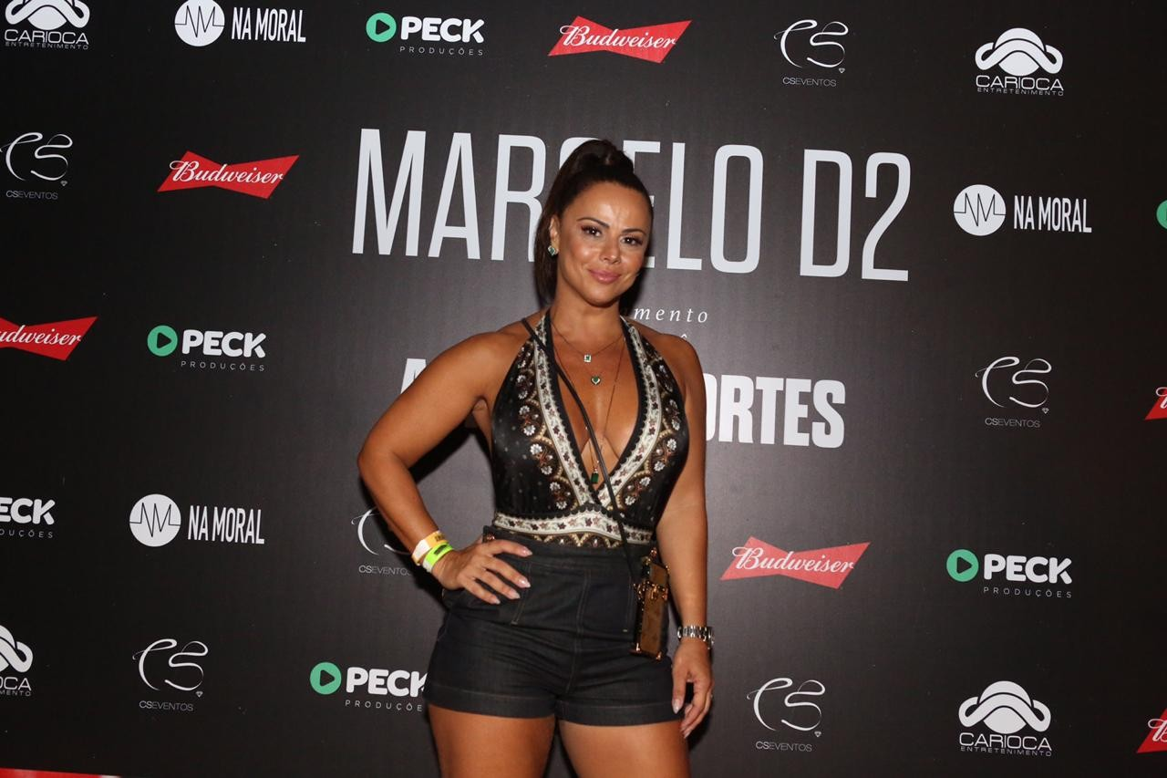 Viviane Araujo (Foto: Reginaldo Teixeira)