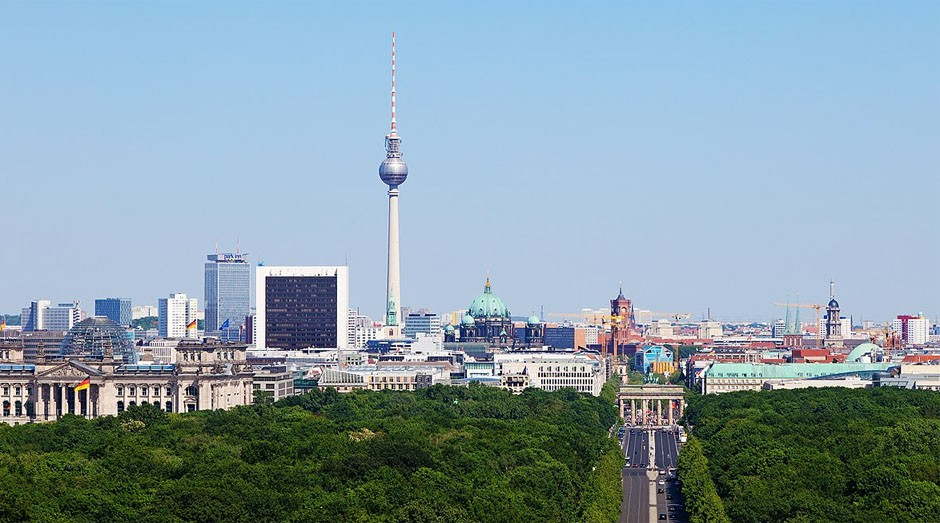 Berlim: cidade alemã vai receber startups brasileiras  (Foto: Wiki Commons)