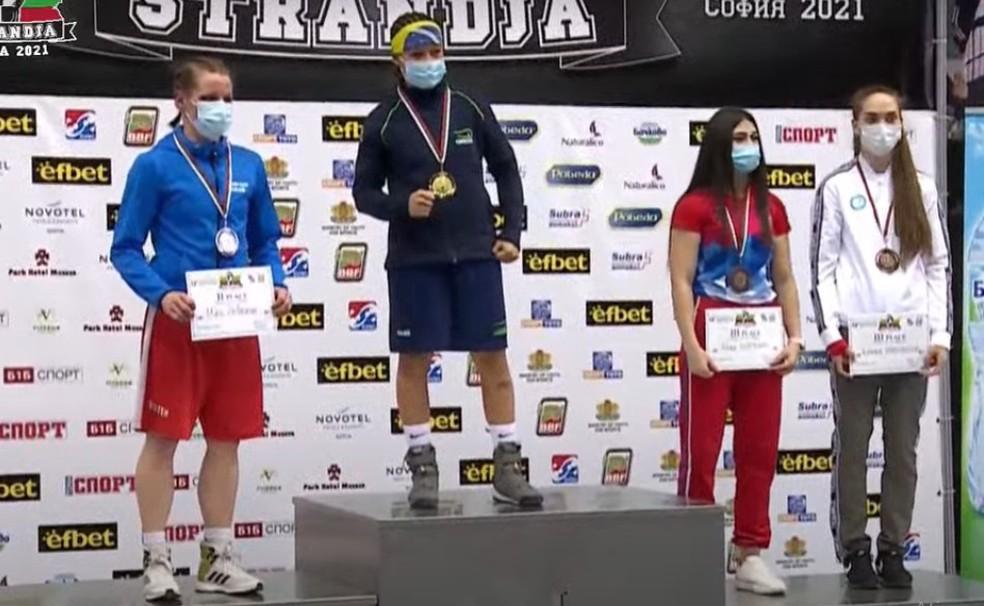 Bia vence Torneio Internacional de Boxe Strandja — Foto: Reprodução/BBF