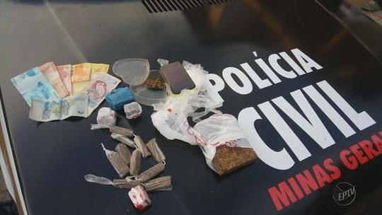 Polícia Civil prende 44 em operação contra o tráfico de drogas em 11 cidades do Sul de MG