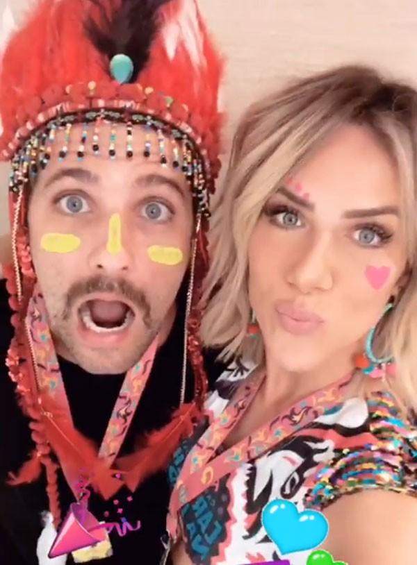 Bruno Gagliasso e Giovanna Ewbank (Foto: Reprodução Instagram)