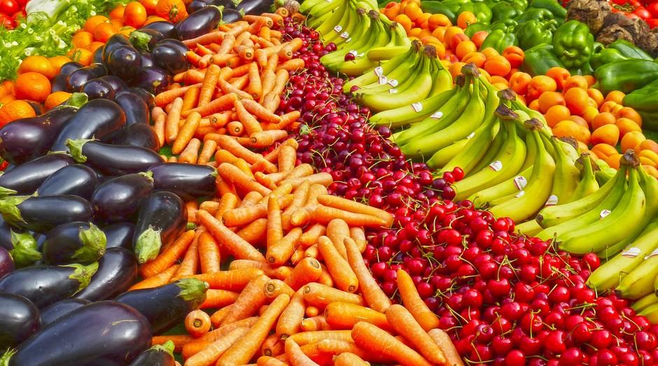 comida, mercado, vegetais (Foto: Reprodução/Pexels)