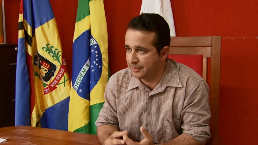 Prefeito Celson José de Oliveira (PT) foi encontrado morto em rádio em Nova Resende (Foto: Arquivo Cedoc / EPTV)